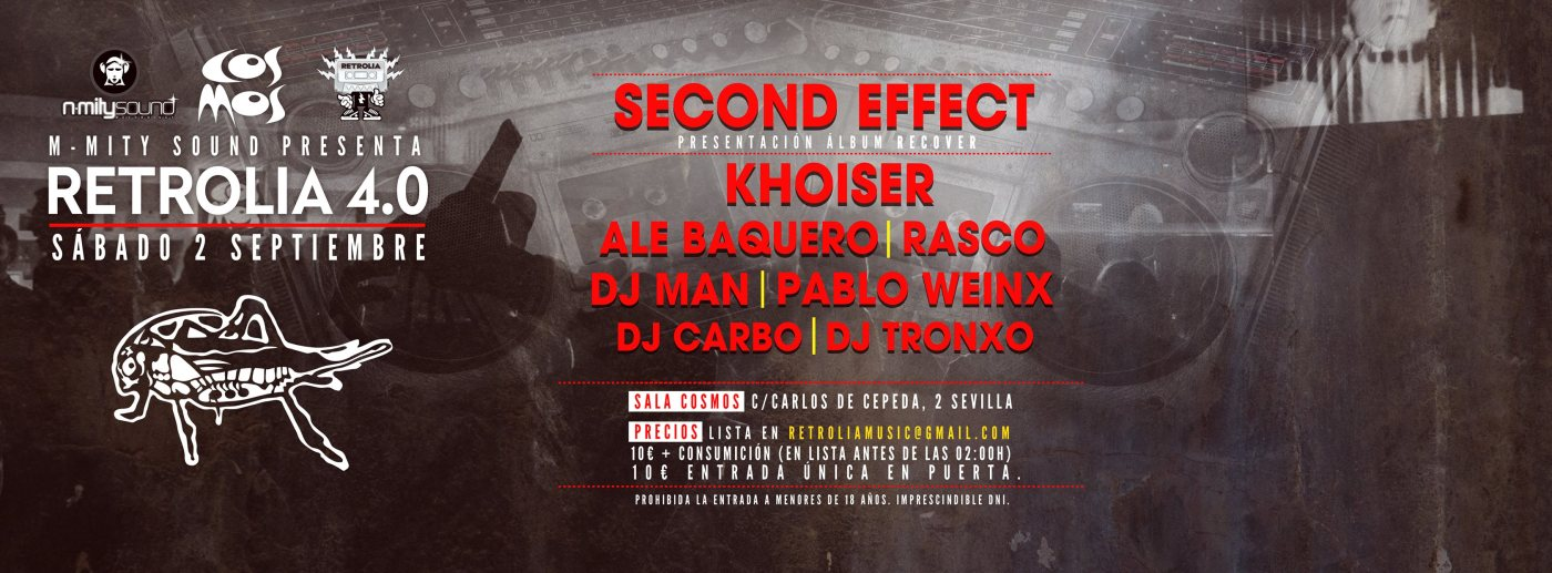 KHOISER, Retrolia 4, N-MItySound, Rasco, djMan, Peter Paul, Ale Baquero