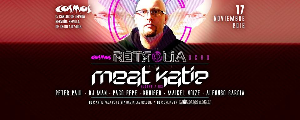 Retrolia 8 - Cartel - 17 NOV 2018 - Sala Cosmos - KHOISER